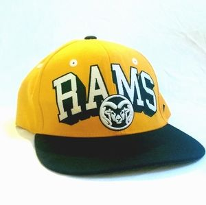 Colorado state University Rams snapback.